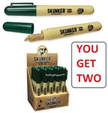 "Buy Two - Skunk Brand ""Skunker"" Pens Pre Rolled Stash Diversion Storage Cases X2"