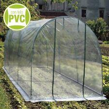 Verdelook serra completa a tunnel x orto telo in PVC cm 200x300x180 h cod 647/14