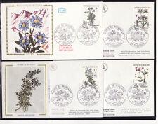 enveloppe 1er jour  série  fleurs de montagne  31 Toulouse      1983