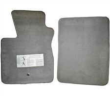 OEM Ford Floor Mats Custom F-Series Pickup Truck Gray Fits 1992-2010 Ford F-150