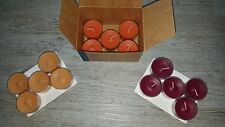 Partylite 15 Teelichter Market Fresh Wilde Beeren, Karamell-Birnen-Chutney usw.