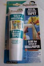 1x 100 ml Clair Transparent Colle pour réparation de papier peint Papier Vinyle NEUF