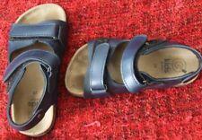 Chaussure sandalette bleue enfant Gémo à scratch - taille 28