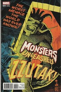 Monsters Unleashed #4 FRANCAVILLA 50S MOVIE POSTER New/Unread 2016