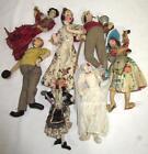 7 Klumpe Dolls Lot 260G