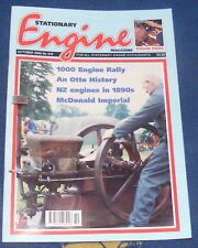 STATIONARY ENGINE MAGAZINE OCTOBER 2000  NO.319 - NZ ENGINES IN 1890S