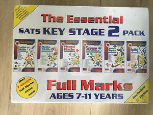 NEW Essential SATS Key Stage 2 Pack Cdroms, Maths Spelling English Science Help