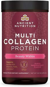 Ancient Nutrition Multi Collagen Protein - Guava Passionfruit - 9.8 oz