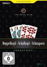 Doppelkopf, Schafkopf, Schnapsen - The Royal Club   PC CD-ROM   NEU+OVP!!!