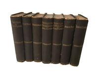 Antique Classics - George Eliot - Circa 1887- 7 Volume Lot Set
