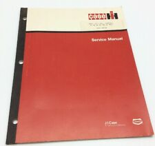 Case H, HW, M, MD, MDV, MV Hydraulic Lift Tractor Service Repair Manual Farmall