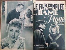 "LE FILM COMPLET 1937 N 2026 "" LA DAME DE PIQUE "": PIERRE BLANCHAR et MAD. OZERAY"