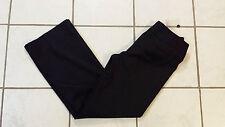 White House Black Market Legacy Low Rise Black Boot Leg Pants Size 4R
