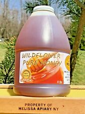 SALE! Buy Raw Honey! WILDFLOWER 5 lbs USA Grade -A-100%-NY-Mountain Floral,HONEY