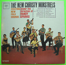 THE NEW CHRISTY MINSTRELS Exciting New Folk Chorus 1st Columbia Mono LP VG 1962