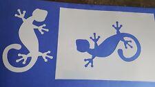 Schablonen 680 Echse Wandtattoo Stencil Wandbilder Airbrush Wanddekoration Mylar