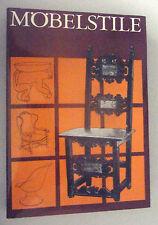 Gli stili mobili ~ Iuliu kaesz/libro specializzato 1984/epoche e stile = scomparto -/Libro di destinazione