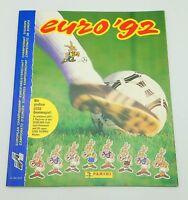 Euro 92 Album Figurines Panini European 1992 Vacuum