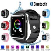 Montre-bracelet intelligente Bluetooth téléphone-appareil pr iPhone Android