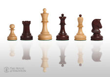 "The Dubrovnik Chess Set - Pieces Only - 3.75"" King - Rosewood Gilded"