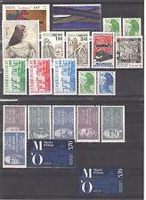 FRANCE 1986 - 1994 SELECTION STAMP SETS Very Fine  MINT MNH