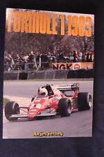 ARP Book Formule 1 1983 door Anjes Verhey (Nederlands)