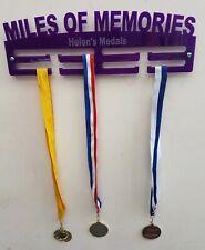 Miles de souvenirs médaille Hanger médaille Support personnalisé de 2 étages 5 mm Acrylique