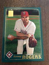 2001 Topps Kenny Rogers Texas Rangers 552