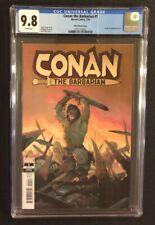 CONAN THE BARBARIAN #1 Comic Book CGC 9.8 ESAD RIBIC VARIANT Cover Marvel 2019