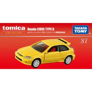 Tomica Premium HONDA 1:62 CIVIC TYRE R TP37 Yellow Limited Edition Metal Car