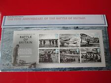 75th Ann. Battle of Britain Presentation Pack 6 STAMPS Royal Mail 2015