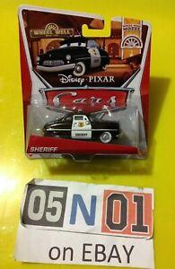 "Disney Pixar Cars ""Wheel Well Motel"" Series 1/11 - Sheriff - New Sealed (FB01)"