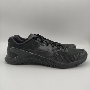 Nike Metcon 4 Black AH7453-001 Crossfit Weightlifting Workout Shoes Mens 11 New