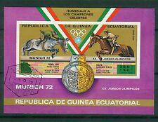 Äquatorialguinea Block 20  , o , Motiv Olypmpiade