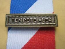 Agrafe TEMPÊTE ALEX  en Bronze pour la  Médaille de la Sécurité Intérieure