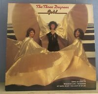 THREE DEGREES Gold 1980 UK vinyl LP EXCELLENT CONDITION live best of greatest  A