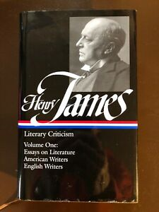 Literary Criticism Vol. 1 by Henry James, Library of America, 1984 w/DJ