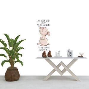 Wandtattoo Aufkleber Wandsticker Schweinchen arrogant - Ich habe das schon ...