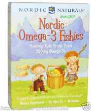 NEW NORDIC NATURALS OMEGA 3 FISHIES SUPPORTS OPTIMAL BRAIN & IMMUNE FUNCTION