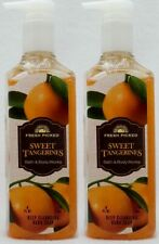 2 Bath & Body Works SWEET TANGERINES Deep Cleansing Hand Wash Soap