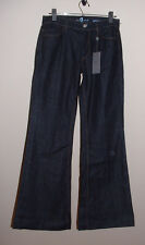 NWT 7 FOR ALL MANKIND GINGER MID RISE FLARE STRETCH JEANS NEW SIZE 27