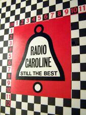 1960's Radio Caroline Coche Clásico pegatina de cristal
