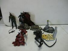 4 McFarlane Action Figures with Alien, Spawn