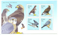 Ireland - Birds of Prey min sheet -Raptors -Eagle-Buzzard-Falcon-Merlin