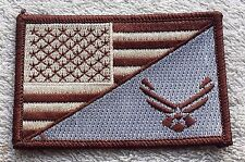 UNITED STATES AIR FORCE FLAG PATCH DCU Embroidered Badge 5 x 7.6cm America USAF
