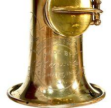 Conn New Wonder II 1927 High F Original Gold Plate Soprano Saxophone