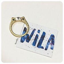 WILA bear faced ring NEW NWT
