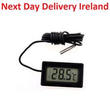 Digital LCD Temperature Meter Thermometer Probe Fridge Freezer Thermograph -50
