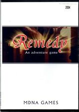 REMEDY A Carol Reed Mystery by MDNA Games 2004 PC Game Adventure RARE