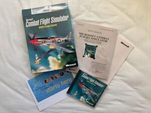 Microsoft Combat Flight Simulator CFS World War 2 Europe Series PC Big Box